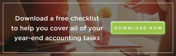 Download a free checklist to help you cover all of your year-end accounting.